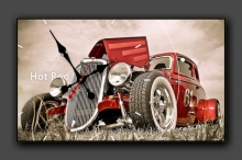 "Часы Futuristic Design ""Hot Rod"""
